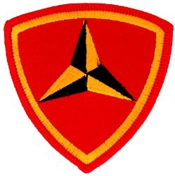 3rd Marine Division Small Patch (3 inch)
