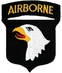 101st Airborne Division Small Patch (3 inch)