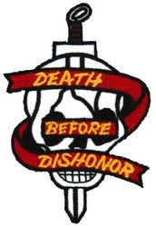 Death Before Dishonor Small Patch (4 inch)
