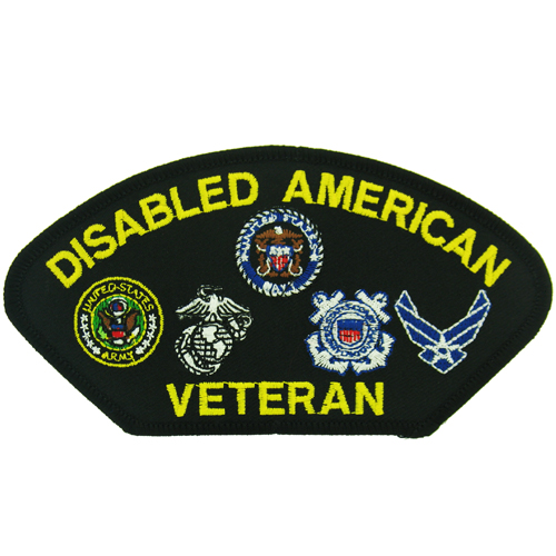 Disabled American Veteran (5 1/4 inch)