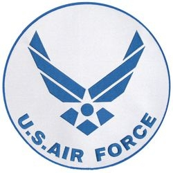 US Air Force Insignia Back Patch (10 inch)