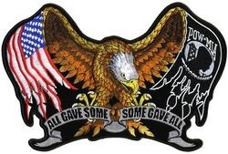 All Gave Some Some Gave All Back Patch (11 x 7 )